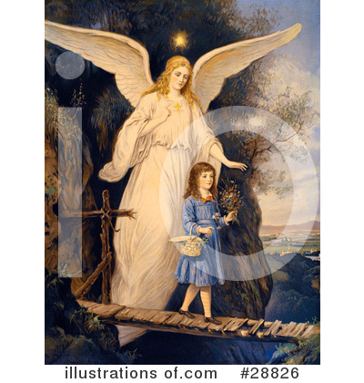 Guardian Angel Clipart #28826 by OldPixels