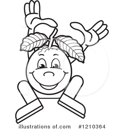 Royalty Free RF Guava Clipart Illustration 1210364 By Lal Perera