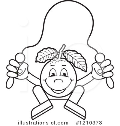 Royalty Free RF Guava Clipart Illustration 1210373 By Lal Perera