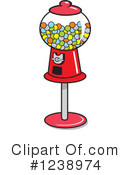 Gumball Machine Clipart #1238974 by Johnny Sajem