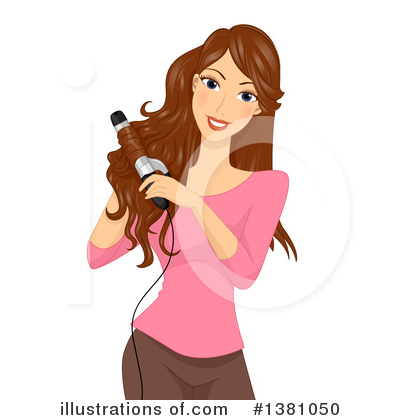 Hair Care Clipart #1381050 by BNP Design Studio