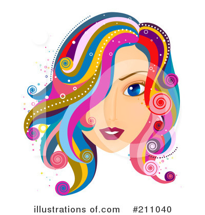 Hair Care Clipart #211040 by BNP Design Studio