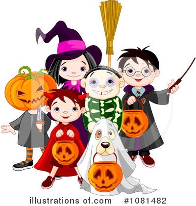 Trick Or Treat Clipart #1081482 by Pushkin