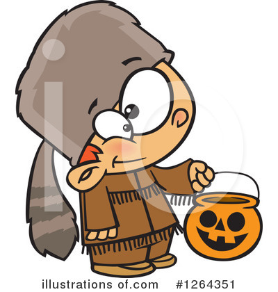 Trick Or Treat Clipart #1264351 by toonaday