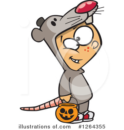 Trick Or Treat Clipart #1264355 by toonaday