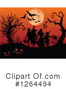 Halloween Clipart #1264494 by Pushkin
