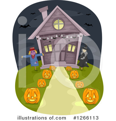 House Clipart #1266113 by BNP Design Studio