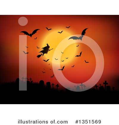 Halloween Clipart #1351569 by KJ Pargeter