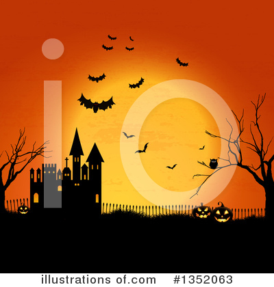 Halloween Clipart #1352063 by KJ Pargeter