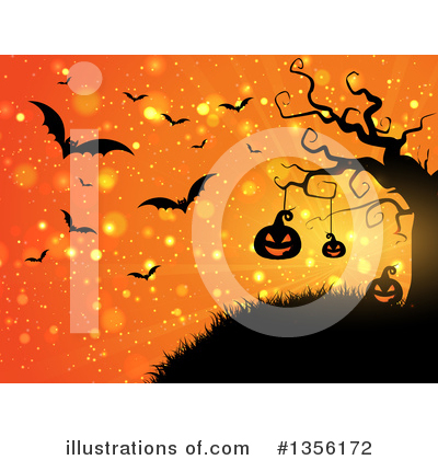 Royalty-Free (RF) Halloween Clipart Illustration by KJ Pargeter - Stock Sample #1356172