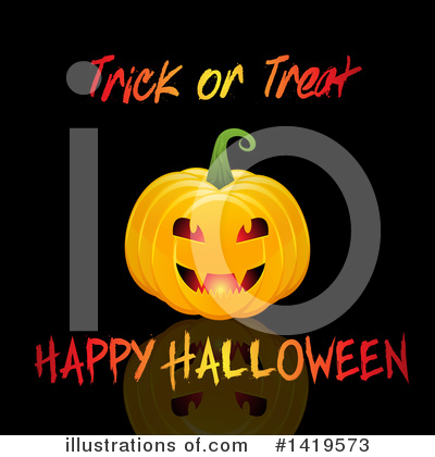 Trick Or Treat Clipart #1419573 by KJ Pargeter