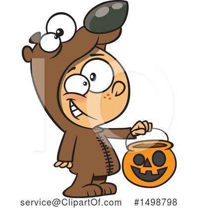 Bear Clipart #1498798 by toonaday