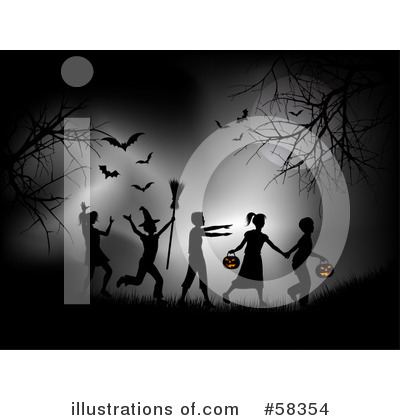 Trick Or Treat Clipart #58354 by KJ Pargeter