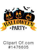 Halloween Party Clipart #1476605 by visekart