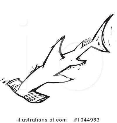 hammerhead shark clipart 1044983 illustration by xunantunich rh illustrationsof com great hammerhead shark clipart hammerhead shark clipart free