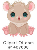 Hamster Clipart #1407608 by Pushkin