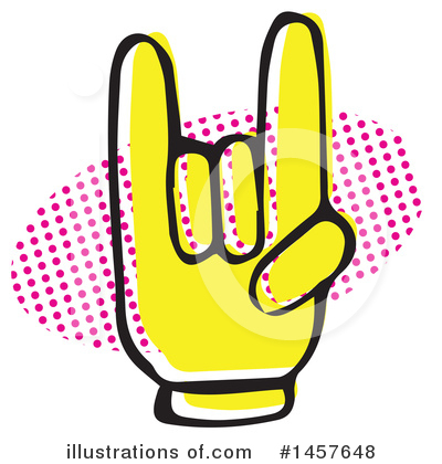 Hand Clipart #1457648 by Cherie Reve