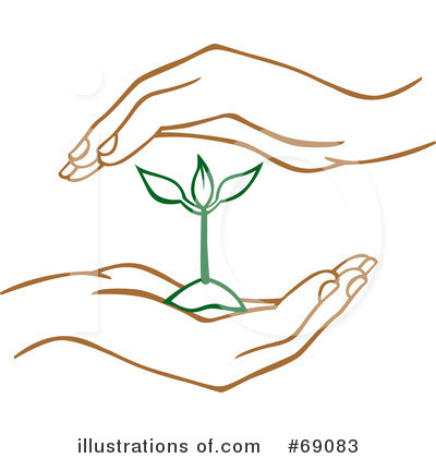 Hand Clipart #69083 - Illustration by Cherie Reve