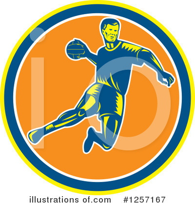 Dodgeball Clipart #1257167 by patrimonio