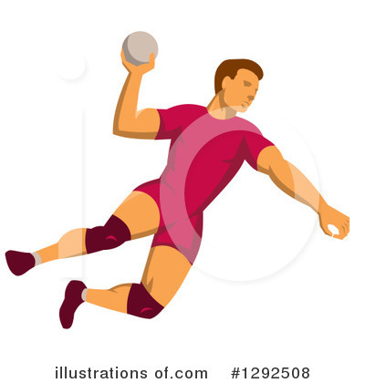 Dodgeball Clipart #1292508 by patrimonio