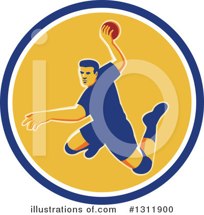 Dodgeball Clipart #1311900 by patrimonio