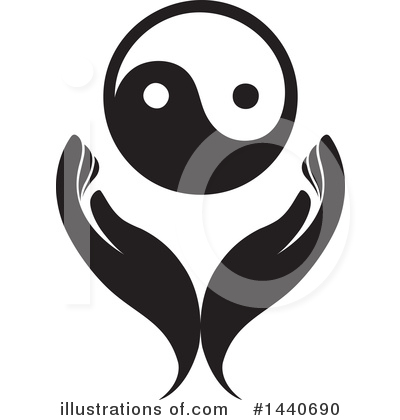 Yin Yang Clipart #1440690 by ColorMagic