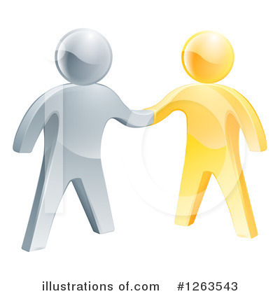 Teamwork Clipart #1263543 by AtStockIllustration