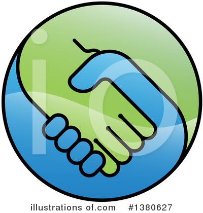 Teamwork Clipart #1380627 by AtStockIllustration