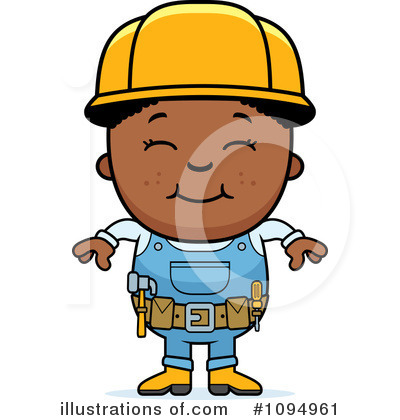 Handyman Clipart #1094961 - Illustration by Cory Thoman