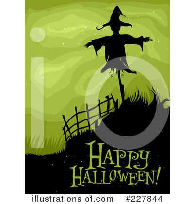 Royalty Free (RF) Happy Halloween Clipart Illustration #227844 By BNP Design  Studio