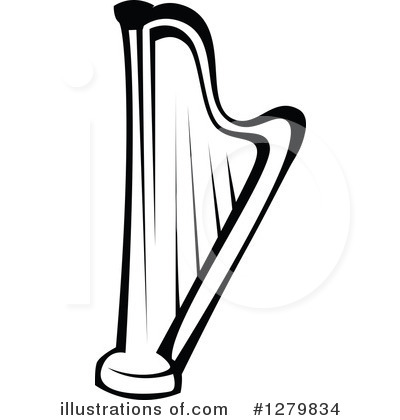 Clip Art Harp Clipart harp clipart 1279834 illustration by vector tradition sm royalty free rf stock sample