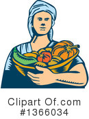 Harvest Clipart #1366034 by patrimonio