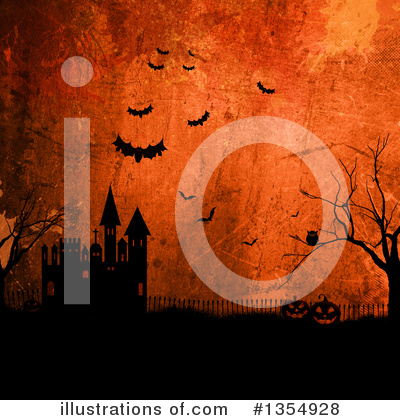 Halloween Clipart #1354928 by KJ Pargeter