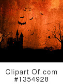 Haunted Castle Clipart #1354928 by KJ Pargeter