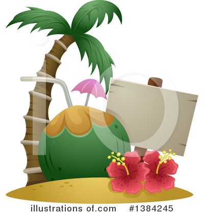 Royalty-Free (RF) Hawaii Clipart Illustration by BNP Design Studio - Stock Sample #1384245