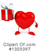 Heart Character Clipart #1320397 by Julos