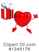 Heart Character Clipart #1346178 by Julos