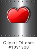 Heart Clipart #1091933 by KJ Pargeter