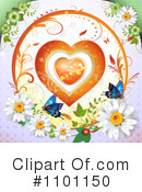 Heart Clipart #1101150 by merlinul