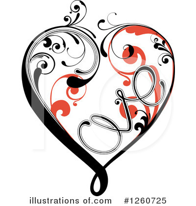 Hearts Clipart #1260725 by OnFocusMedia