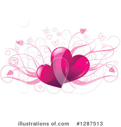 Valentines Day Clipart #1287513 by Pushkin