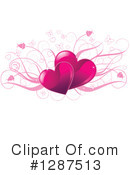 Hearts Clipart #1287513 by Pushkin
