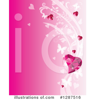 Valentines Day Clipart #1287516 by Pushkin