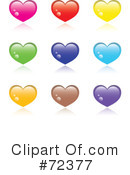 Hearts Clipart #72377 by cidepix