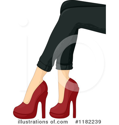Royalty-Free (RF) Heels Clipart Illustration by BNP Design Studio - Stock Sample #1182239