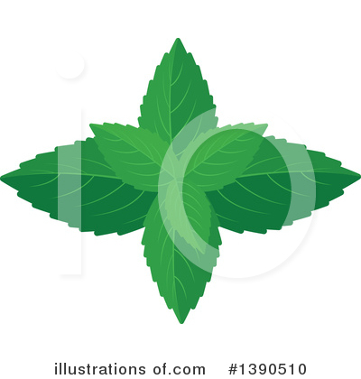 Herbs Clipart #1390510 by Vector Tradition SM