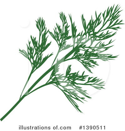 Herbs Clipart #1390511 by Vector Tradition SM