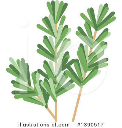 Herb Clipart #1390517 by Vector Tradition SM