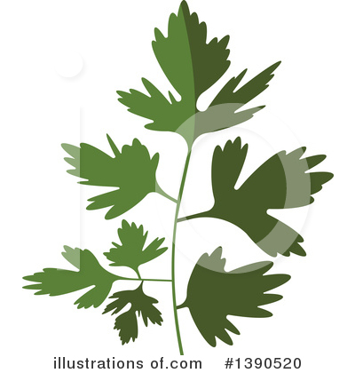 Herb Clipart #1390520 by Vector Tradition SM