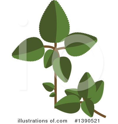Herb Clipart #1390521 by Vector Tradition SM